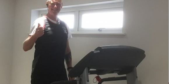 John STILL running a marathon for Cadas this weekend