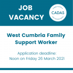 New vacancy for Family Support Worker