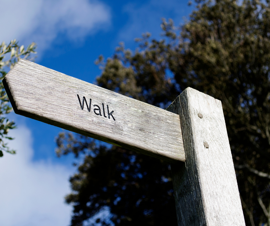 Group Health walking event